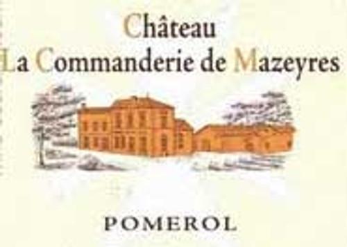 Chateau La Commanderie De Mazeyres