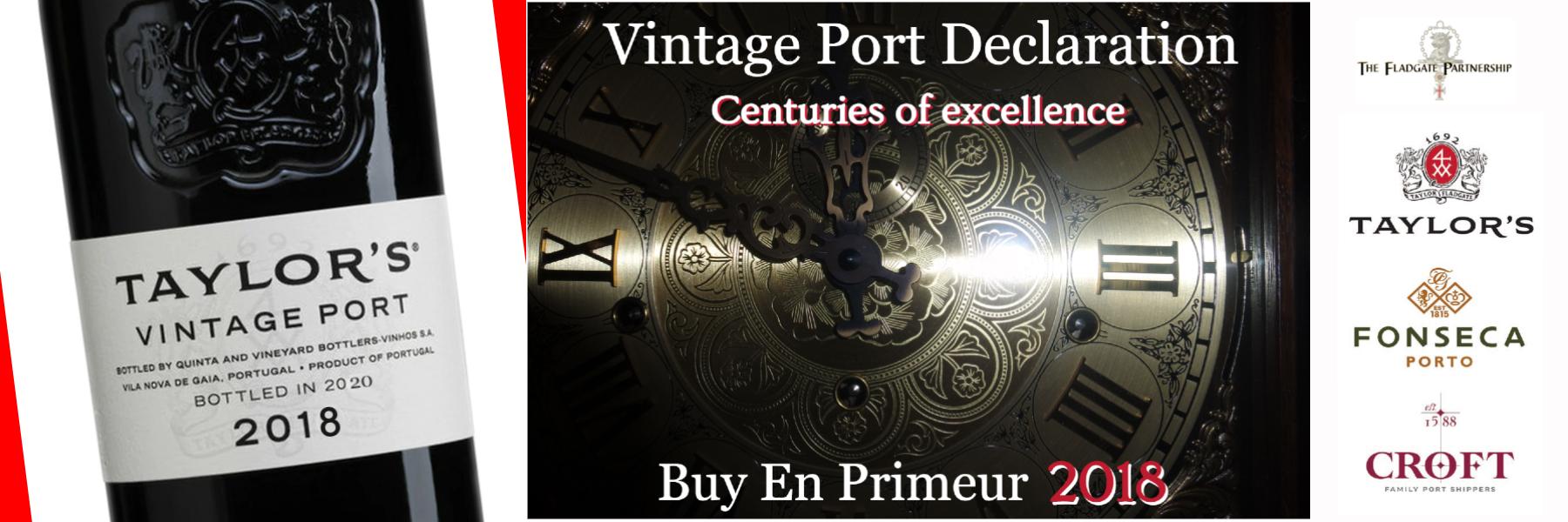 """Tailor-made for you since 1692 - Buy """"En Primeur"""" 2018 Vintage Port here"""