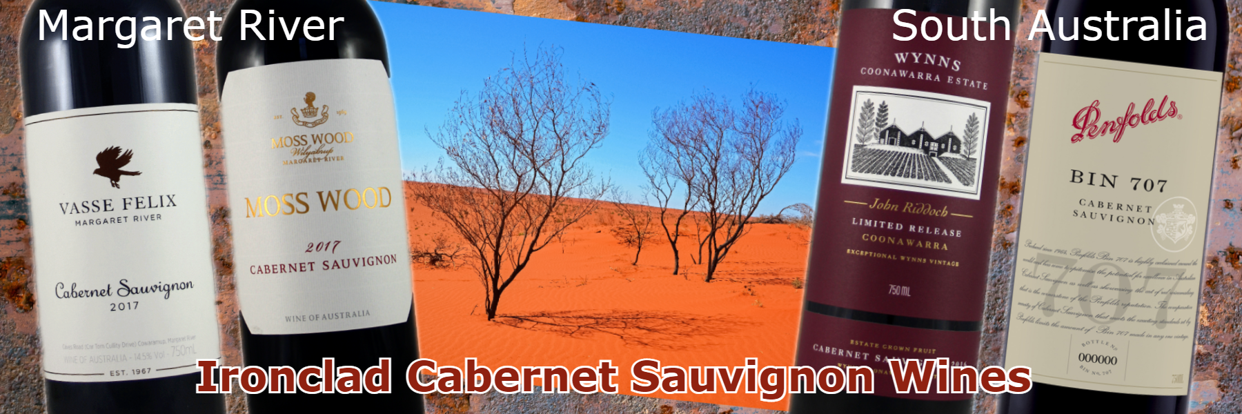 Ironclad Australian Cabernet Sauvignon & more from Oz
