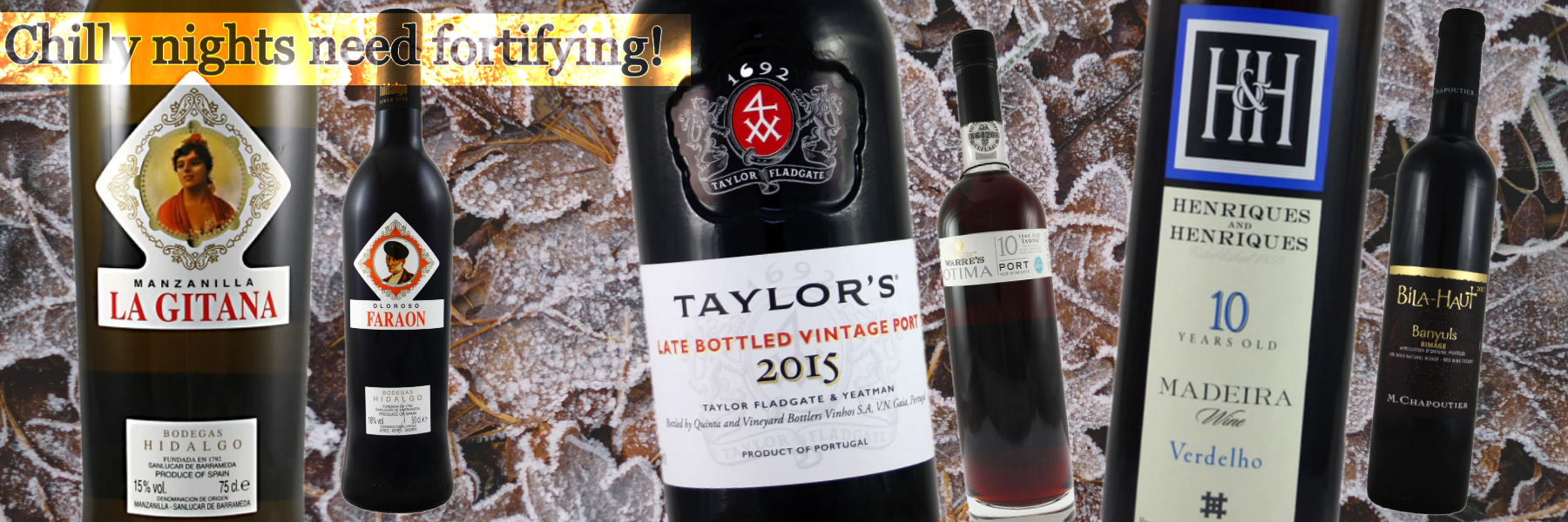 Fortified Wines - Everybody's Christmas favourites