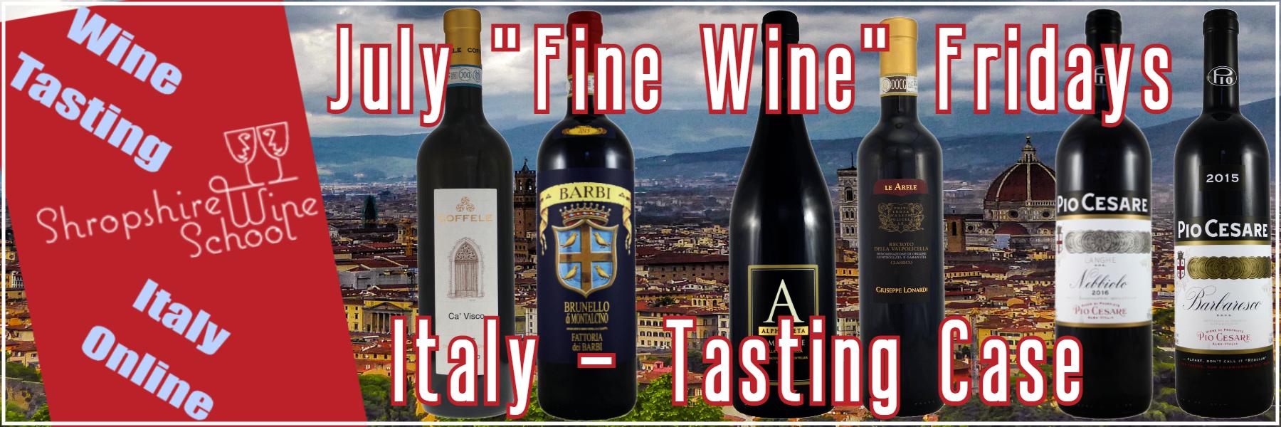 Italy - Shropshire wine School