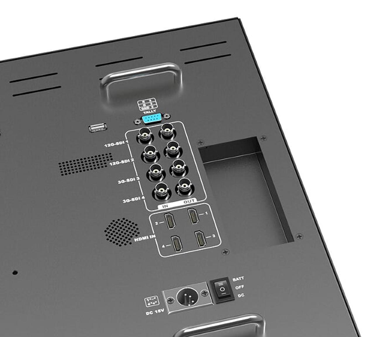 BM230-12G 23.8 inch carry on 12G-SDI Broadcast director monitor