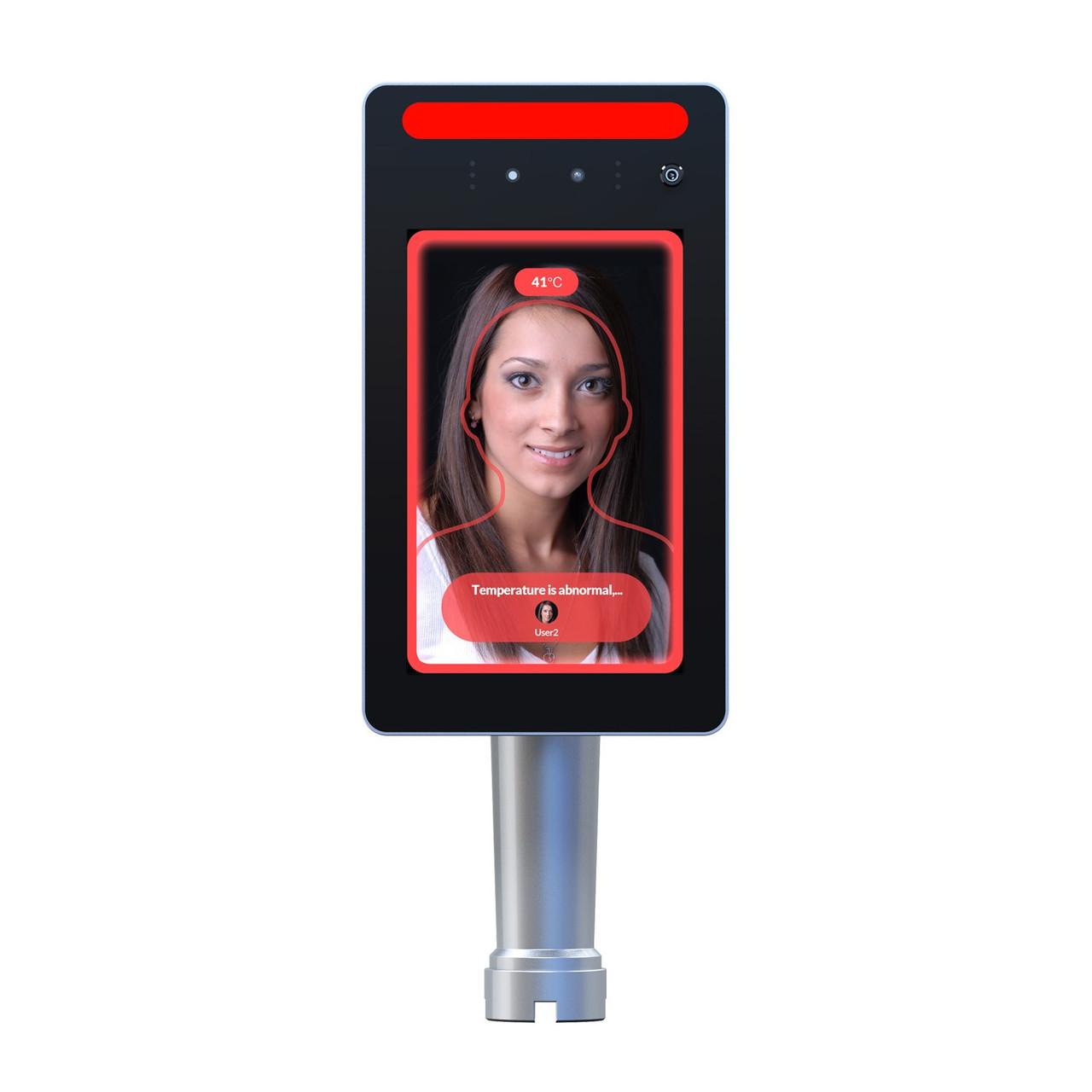 """TMT-8 8"""" Face Recognition & Temperature Measurement Terminal"""