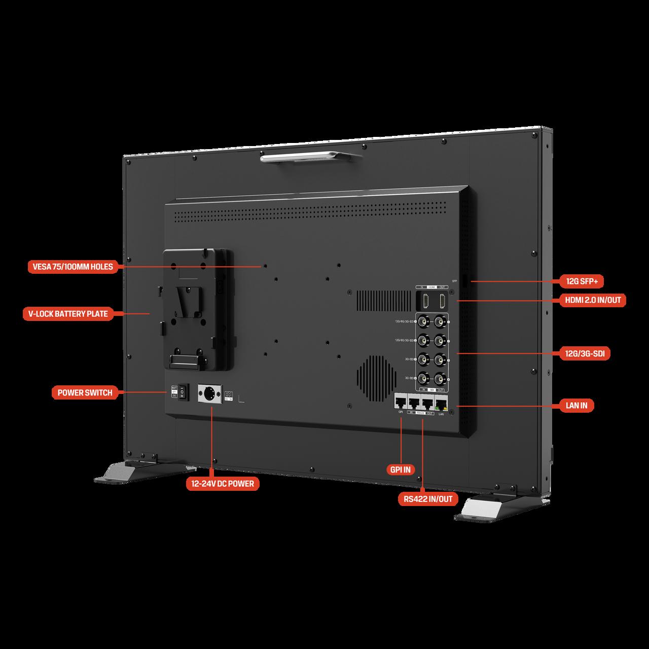Q23 23.8 inch 12G-SDI professional broadcast production studio monitor