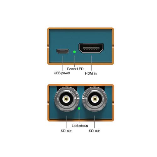 Mini SC1221 HDMI to 3G-SDI Pocket-Size Broadcast Converter