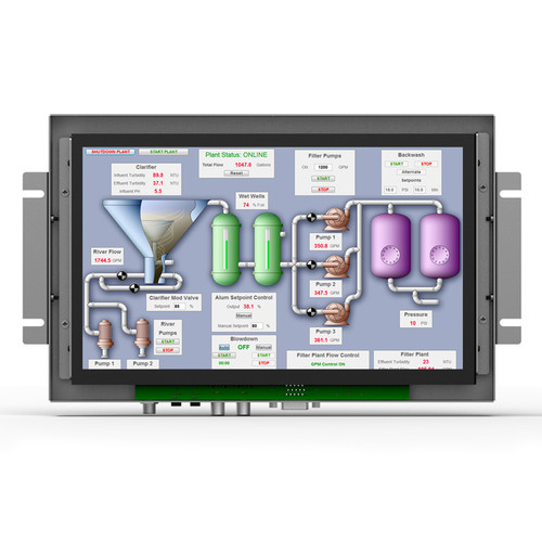 """TK1010-NP/C/T 10.1"""" Industrial Touch Monitor"""