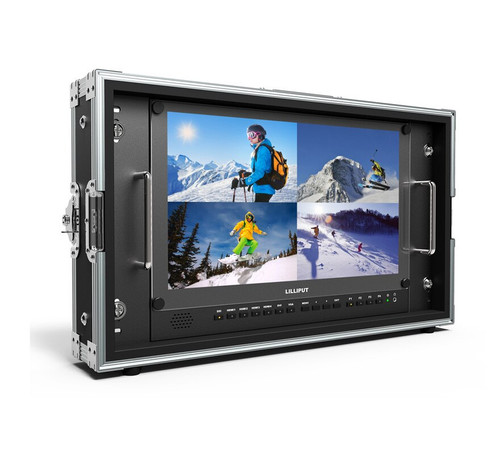 "BM150-12G 12G-SDI 15.6"" 4K SDI HDMI Broadcast Director Monitor"