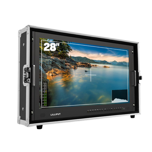 """BM280-4KS 28"""" 4K HDMI Carry-On Broadcast Monitor With SDI, HDR And 3D LUTS"""
