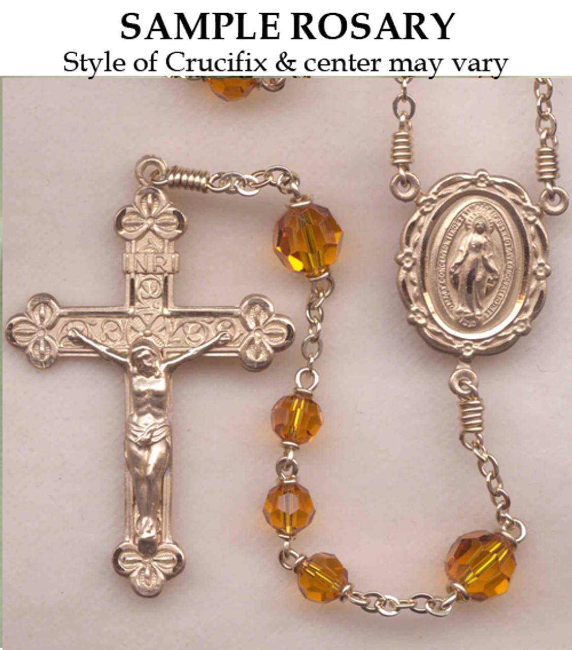 Rosary Restoration Rosary Parts Glass Rosary Beads Catholic Crafting