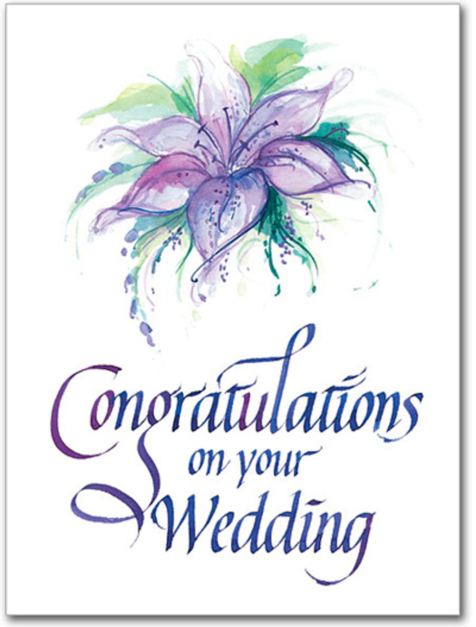 Sisters Of Carmel Congratulations On Your Wedding Greeting Card