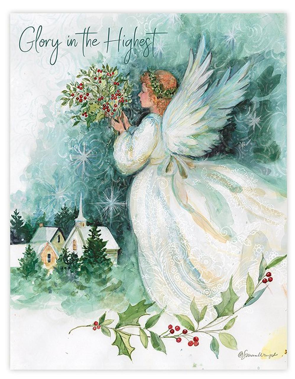 Christmas Angel.Christmas Angel Christmas Card
