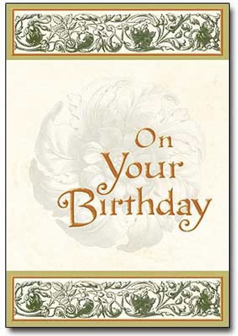 Sisters Of Carmel Religious Birthday Card