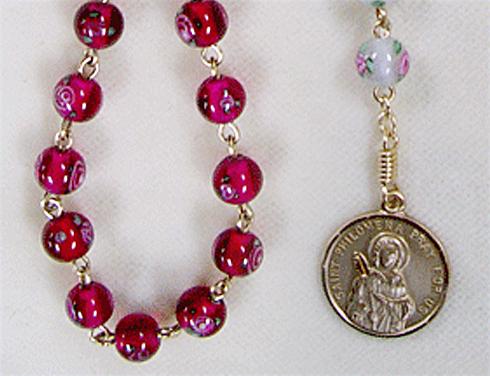Handmade Rosaries. Rosary Bracelets. Chaplets