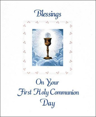 Sisters Of Carmel First Holy Communion Greeting Card