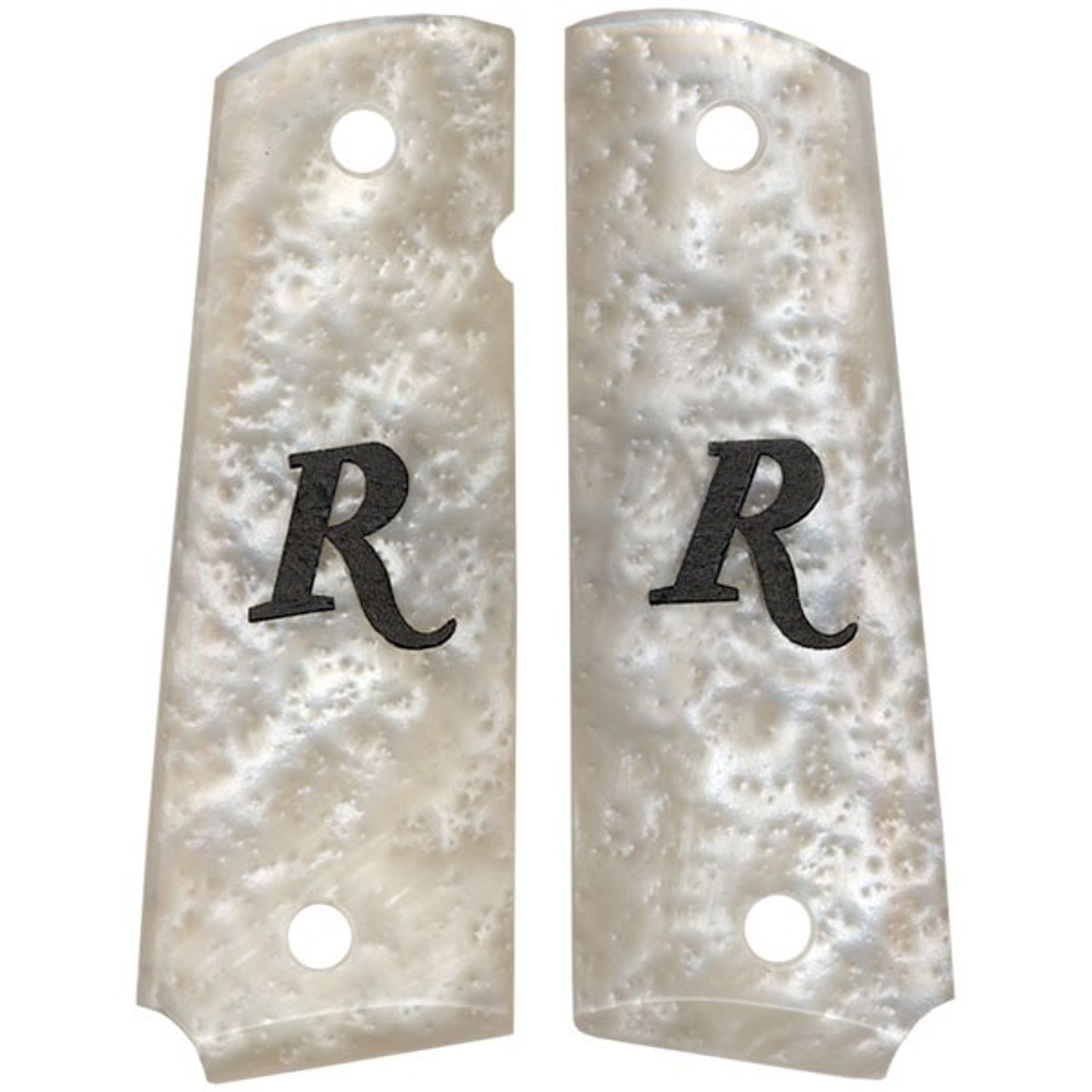 1911 GRIPS - GOVERNMENT / FULL-SIZE - REMINGTON - FAUX PEARL