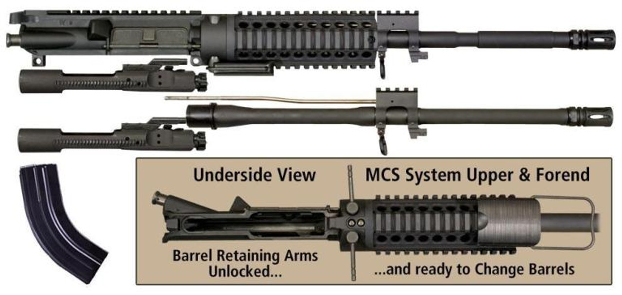 Windham Weaponry AR-15 MCS (Multi Caliber System)  223/5 56 with 7 62X39mm