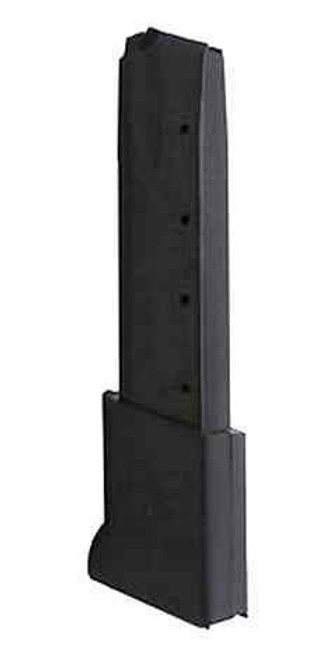 This is a CZ magazine for the 75 40 s&w, extended 16 round capacity, made by CZ.