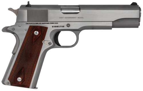 1911 Colt .45 - Government 1911 - Classic - Stainless Steel