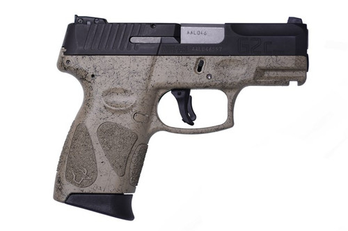This is a Taurus G2C 9mm, with FDE Splatter Frame. Great concealed carry gun weighing in at 22 ounces. Comes with (2)-12 round magazines.