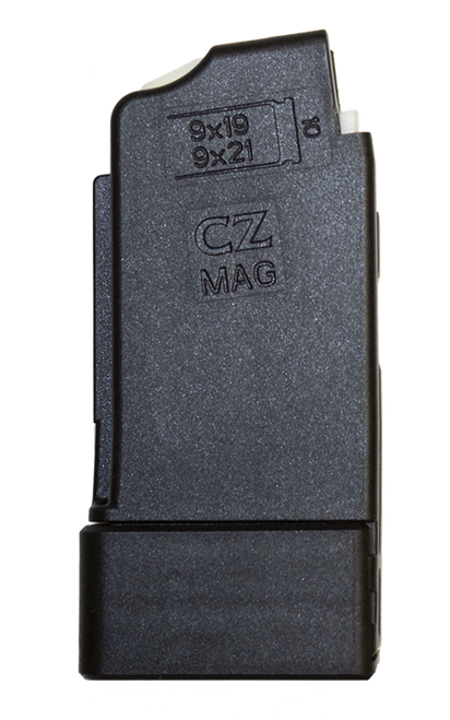 This is a factory CZ magazine for the Scorpion 9mm, 10 round capacity.