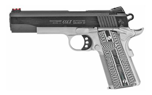 1911 Colt .45 acp - Competition Government - Two Tone