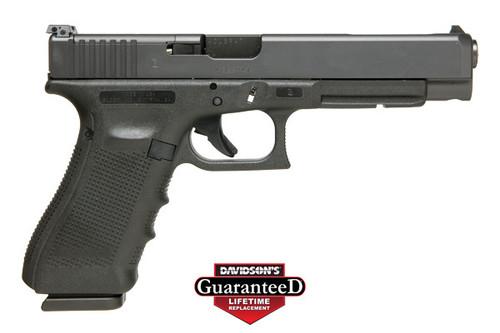 Glock 34 Gen 4 USA 9mm 17 Round Adjustable Rear Sight and Modular Optic System