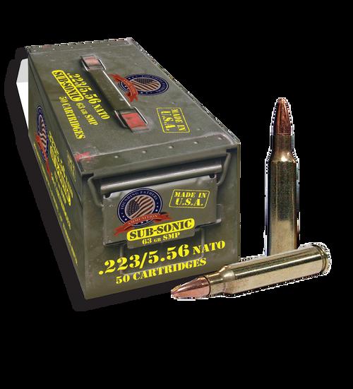 Founding Fathers 5.56 NATO 63 Grain 50 Rounds/ Box Ammo