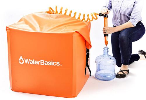 WaterBasics Emergency 60 Gallon Water Storage Kit w/Filter