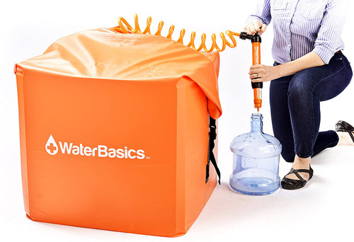WaterBasics Emergency 60 Gallon Water Storage Kit w/Filter