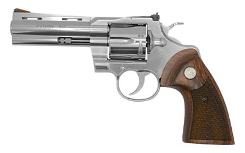 "Colt Revolver - Python - .357 Magnum - 4"" Stainless Steel - PYTHON-SP4WTS"