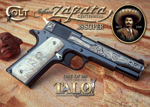 Colt Zapata 38 Super 9 rounds TALO