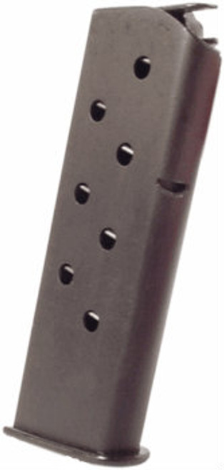 This is an USED 8 round magazine for the Tokarev 54-1 7.62x25mm. All have flat metal floorplates.