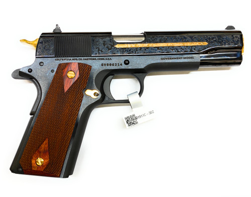 1911 Colt .38 Super - Polished - Blued - Heritage