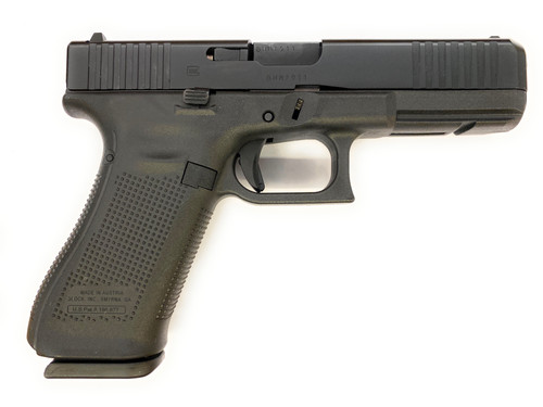 Glock Pistol - 17 - 9mm - Gen 5 - Black - Front Slide Serrations (FSS) - PA175S203