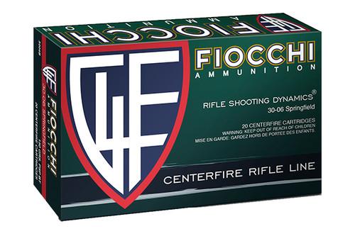Fiocchi Ammunition - .30-06 Springfield - 150 Grain - PSP - 20 Rounds Per Box - 3006B-FIO