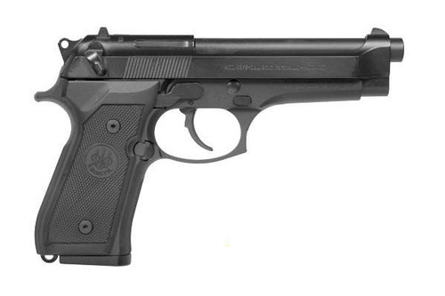 Beretta 92FS manufactured in USA comes standard with Combat Trigger Guard, Chrome-lined Barrel; Lanyard Loop, Reversible Magazine Release.