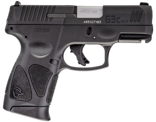 Taurus Pistol - G3C 9mm - Black - 1-G3C931