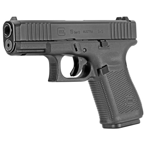Glock Pistol - 19 - 9mm - Gen 5 - Front Slide Serrations - PA195S203