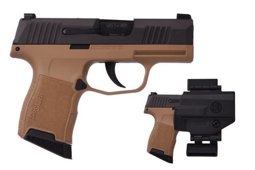 Sig Sauer Pistol - P365 - 9mm - FDE Value Pack - 365-9-BXR3-VP
