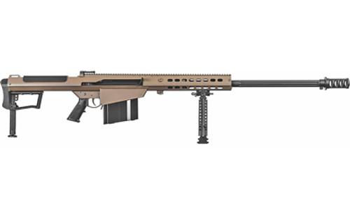 Barrett Rifle: Semi-Auto - M107A1 - 50BMG - FDE - 18065