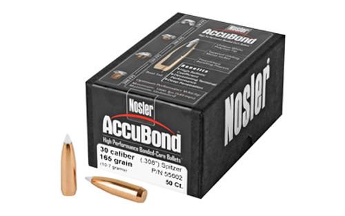 NOSLER AccuBond AccuBond 30 Caliber 55602