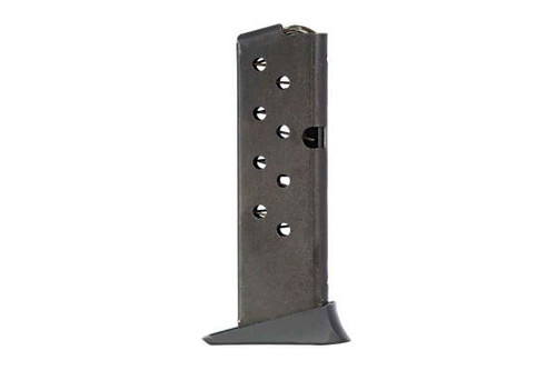 This is a factory Taurus magazine for the PT-25 25 acp, 9 round capacity.