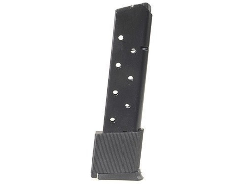 This is a 1911 magazine .45 acp, 10 round capacity, made by ProMag.