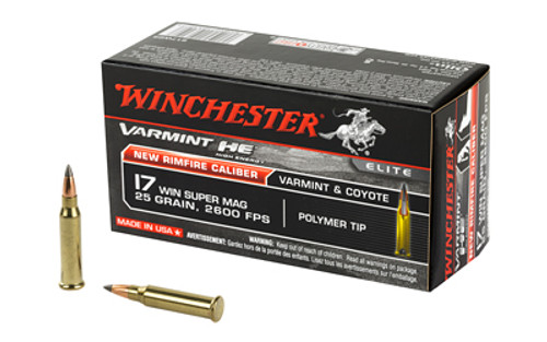 Winchester Ammunition - 17WSM - S17W25