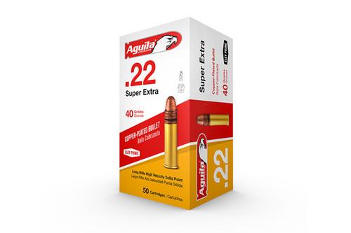 Aguila Ammunition - 22LR - 40 Grain - 50Rds/Bx - 1B220328