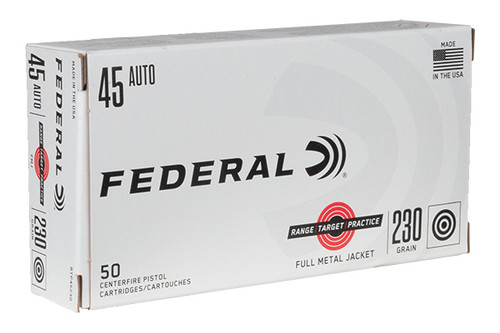 Federal Ammunition - RTP - 45AP - 230 Grain FMJ - 50Rds/Bx - RTP45230