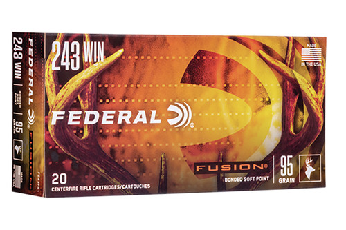 Federal Ammunition - 243 - F243FS1