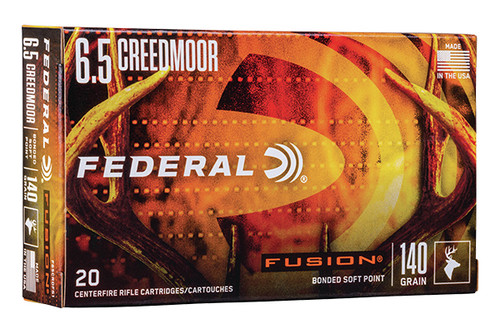 Federal - 6.5 Creedmoor - F65CRDFS1