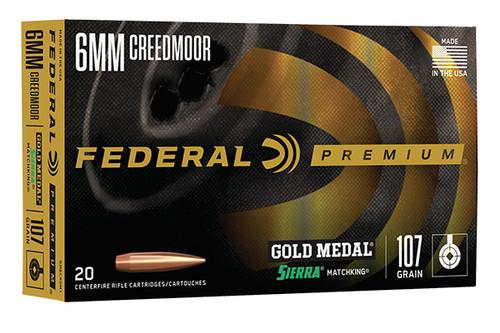 Federal - 6MM Creedmoor - GM6CRDM1