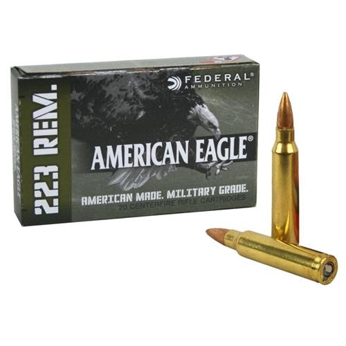 Federal Ammunition - .223 Rem- 20 Rounds/Box - AE223M